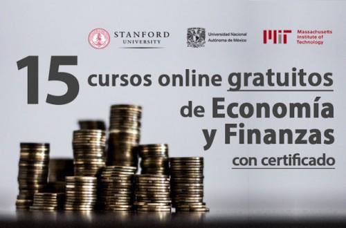 15 cursos universitarios de Economía y Finanzas