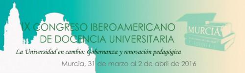 IX Congreso Iberoamericano de Docencia Universitaria