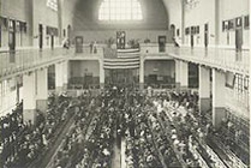 Los inmigrantes y la isla de Ellis, 1902-1913