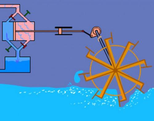 Paddle Steamship
