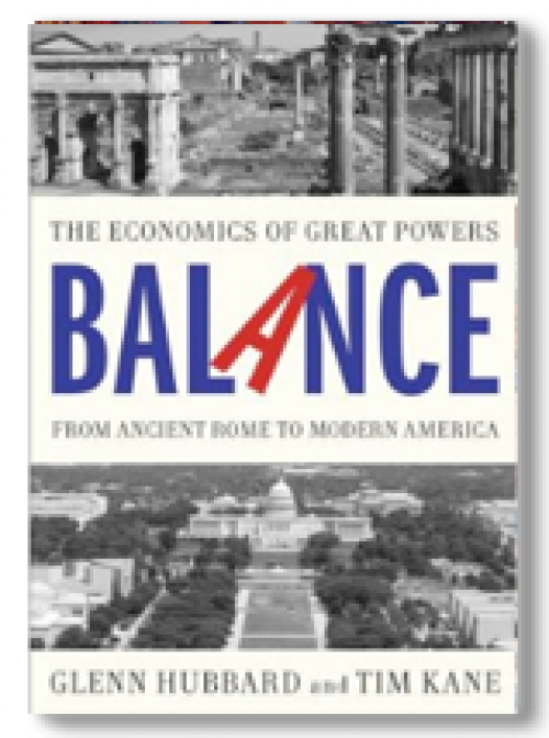 The economics of great powers from Ancient Rome to Modern America
