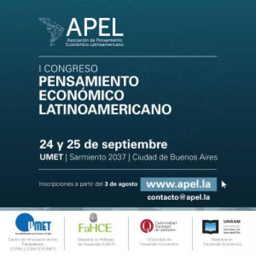 I Congreso de Pensamiento económico Latinoaméricano