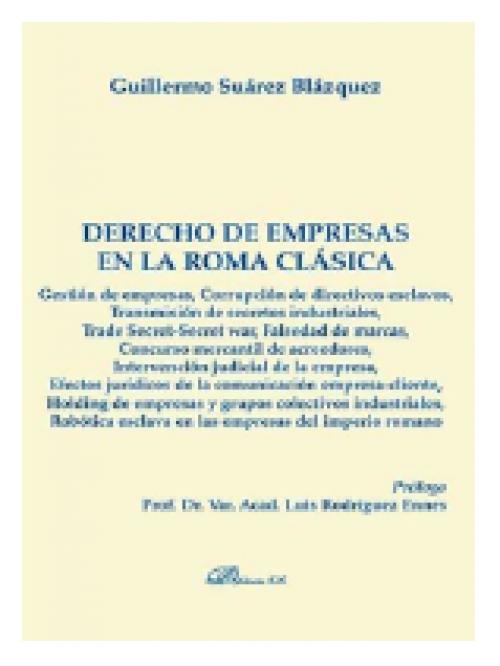 Derecho de empresas en la Roma Clásica