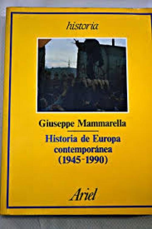 Historia de Europa contemporánea, 1945-1990