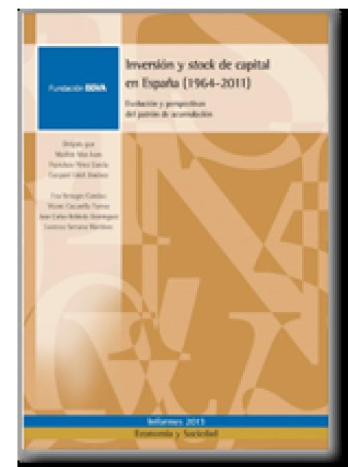 Inversión y stock de capital en España (1964-2011): Evolución  y perspectivas del patrón de acumulación