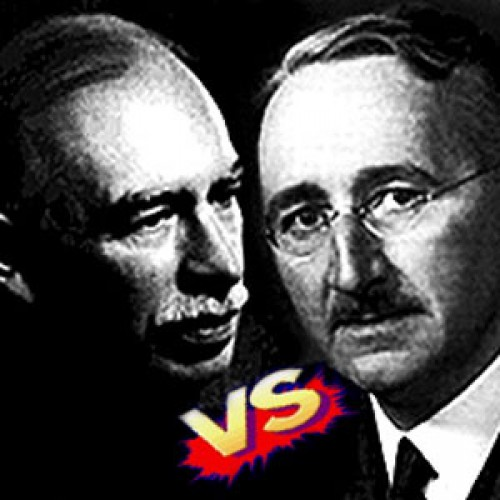The fight of century: Keynes vs Hayek