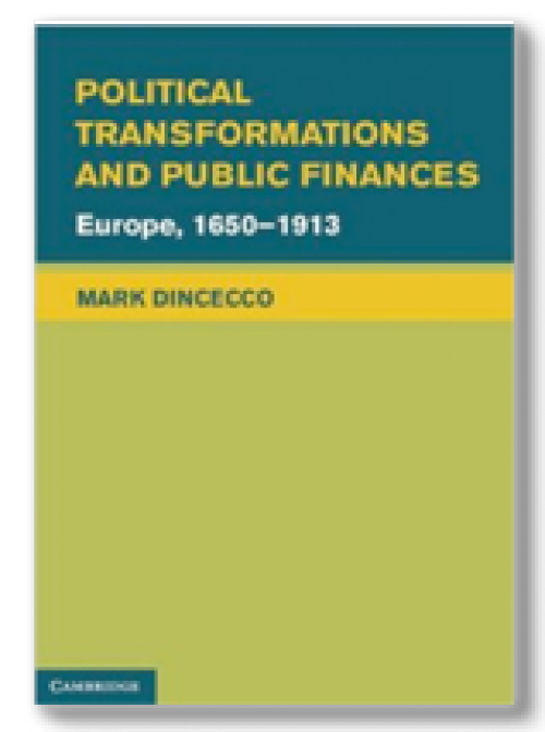Political transformations and public finances Europe, 1650-1913