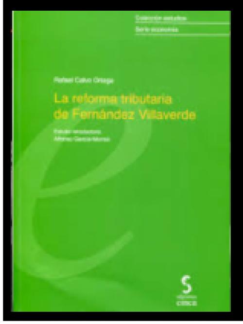 La reforma tributaria de Fernández Villaverde