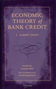 economic theory of bank credit