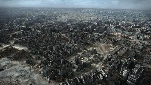 La ciudad en ruinas