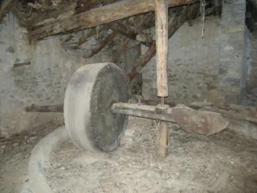 La molturación tradicional de harina