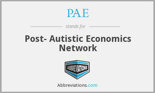 Post-autistic economics network. Heterodox economics, pluralism in economics