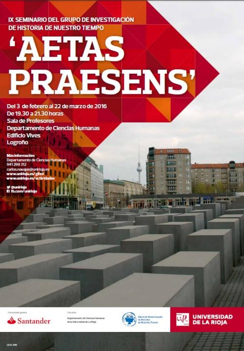 IX Seminario del GIHNT 'Aetas praesens'