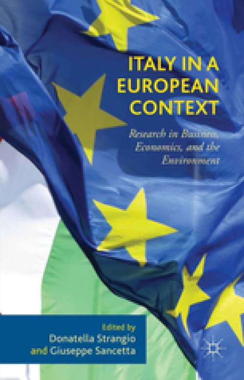 Italy in a European Context. Research in Business, Economics, and the Environment