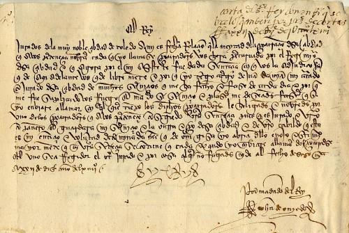 """CURSO VIRTUAL: """"5ª Edición. Paleografía Documental Hispana (ss. XV-XVIII)"""""""