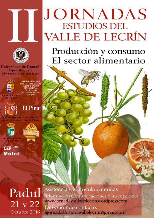 II Jornadas Estudios Valle de Lecrín