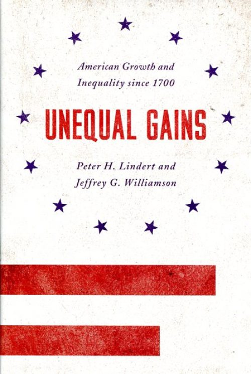 Unequal gains. American growth and inequality since 1700