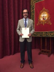 Rogelio Fernández Delgado Primer premio Ernest Lluch de la AEHE