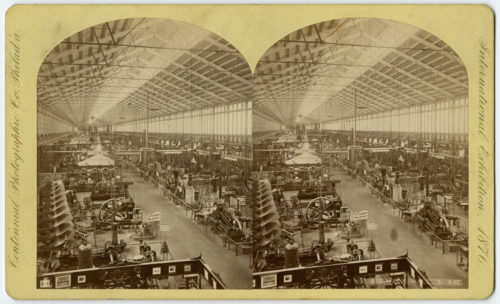 El impacto de la industrialización fue limitado hasta mediados del XIX
