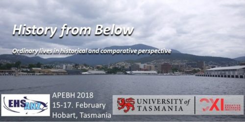 "APEBH 2018 ""History from Below"""