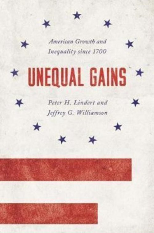"Unequal Gains ""American Growth and Inequality Since 1700"""