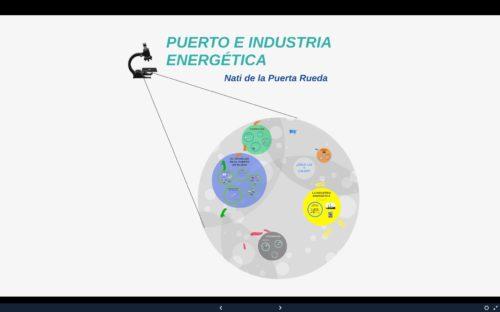 Puerto e industria energética
