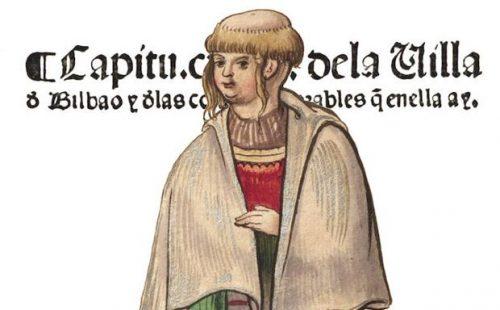 El peinado de las vascas, alimentación y comercio en 1548