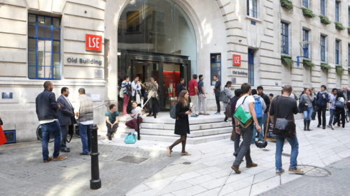 Seminarios en la London School of Economics