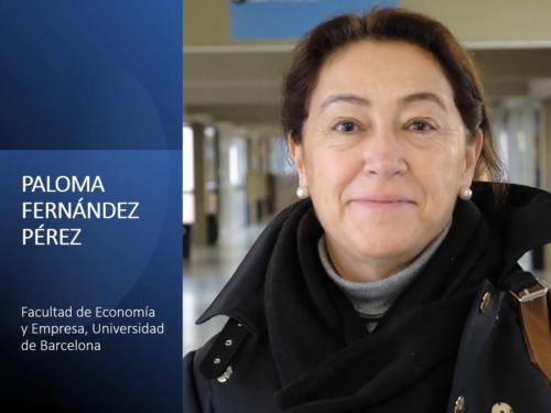 Vídeo 1. Industria farmacéutica y administración de hospitales, Con Paloma Fernández